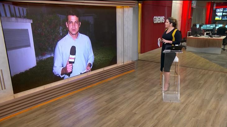 Christiane Pelajo reclamou ao vivo na Globo News - Foto: Reprodução/GloboNews