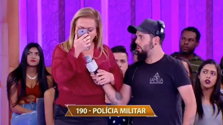 Christina Rocha ligou para polícia no