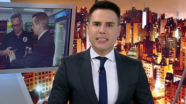 Luiz Bacci no Cidade Alerta - Foto: Reprodução/Record