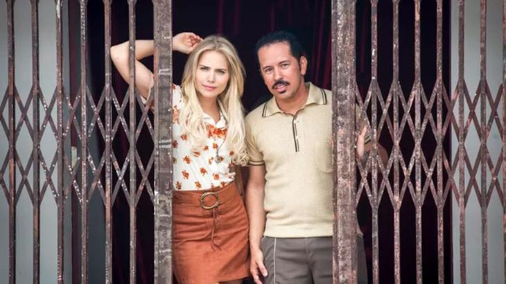 Letícia Colin e Edmilson Filho na nova série da Globo - Divulgação
