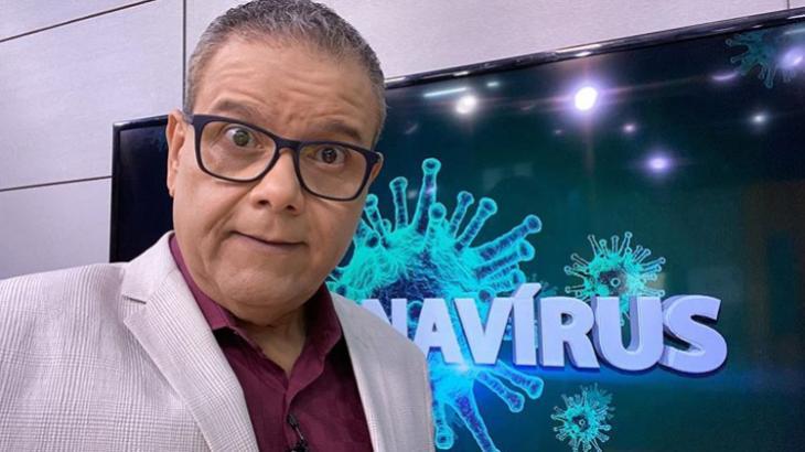 Ciro Bezerra, apresentador do SBT em Recife, testou positivo para o Covid-19 - Foto: Reprodução/Instagram