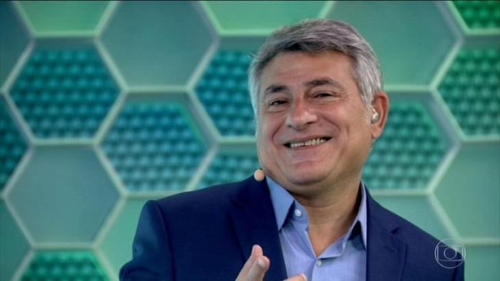 Cléber Machado narrou a vitória do Peru - Foto: Reprodução/Globo