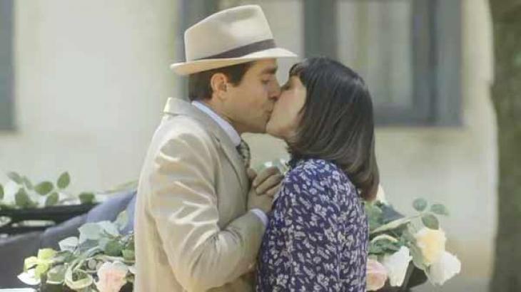 Casal finalmente se acerta em Éramos Seis - Reprodução/TV Globo