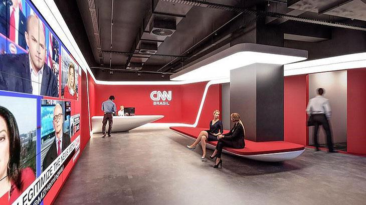 Com concorrência alta, CNN Brasil fez concurso para contratar