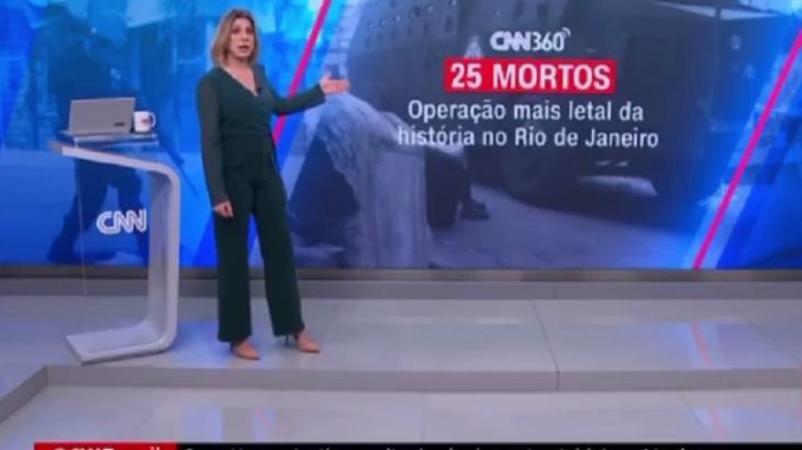 Daniela Lima no programa da CNN Brasil