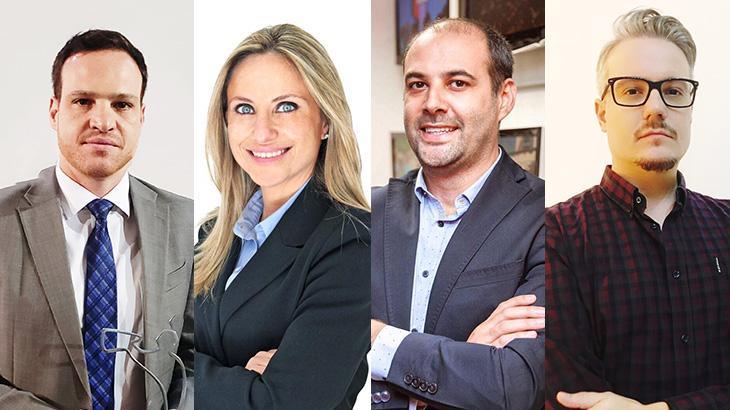 CNN Brasil anuncia quatro novos contratados para sua direção - Fotos: Divulgação/CNN Brasil