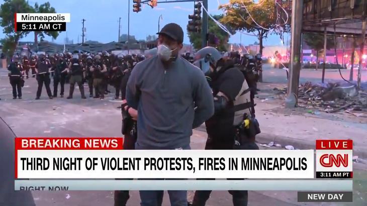 Repórter da CNN foi preso - Foto: Reprodução/Twitter