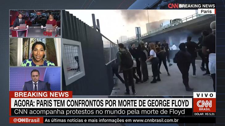 Alexandra Loras, ex-consulesa da França no Brasil, critica William Waack na CNN