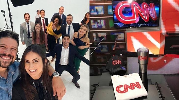 CNN Brasil inicia trabalhos e Gottino mostra parte do cenário:
