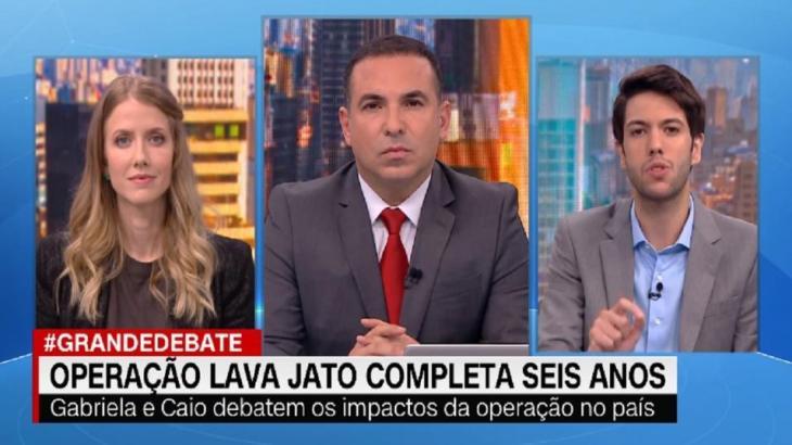 Grande Debate, quadro do CNN Novo Dia, dominou as atenções no mês de estreia - Foto: Reprodução/CNN Brasil