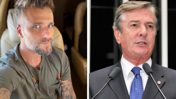 Bruno Gagliasso e Fernando Collor