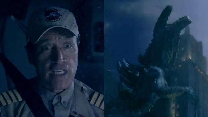 """Record escala Comandante Hamilton para """"enfrentar"""" Godzilla"""