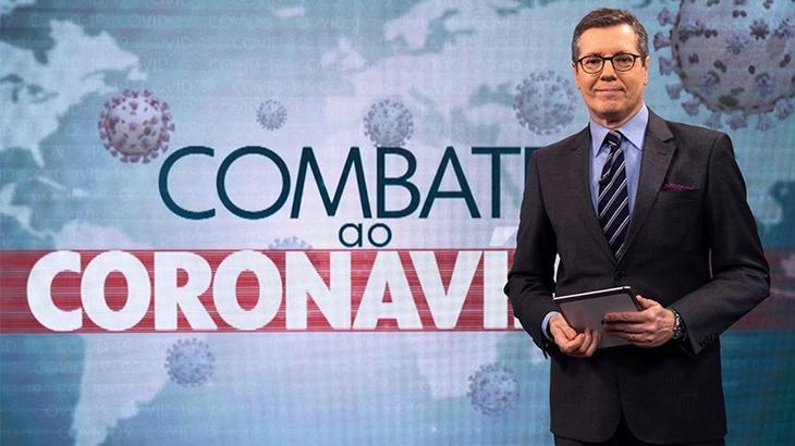 Combate ao Coronavírus bate recorde de audiência na Globo - Televisão - NaTelinha