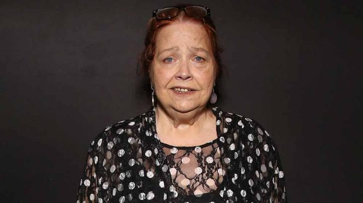 Atriz está com 77 anos