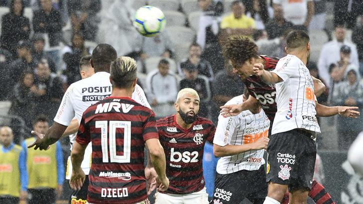 William Arão marcou o gol da vitória do Flamengo em plena casa corintiana - Foto: Flamengo