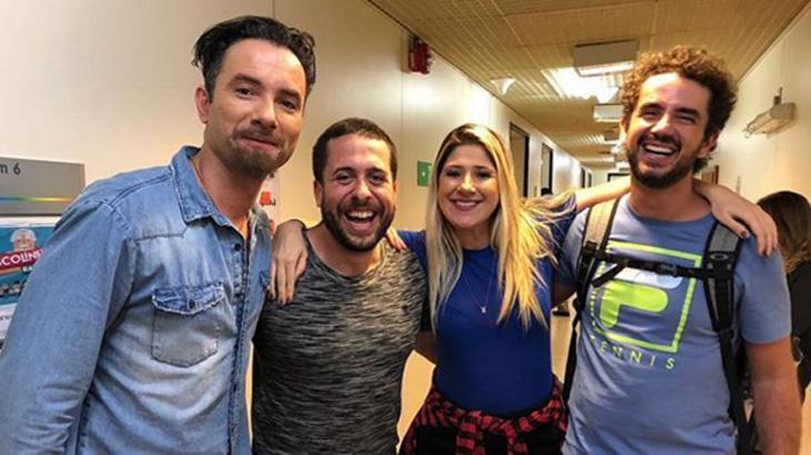 """CQC"" de volta? Ex-integrantes se reencontram nos Estúdios Globo"