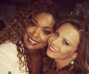 Cris Vianna desmente boatos de rivalidade com Viviane Araújo em