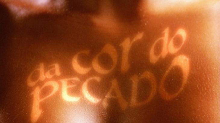 Logo de abertura de Da Cor do Pecado