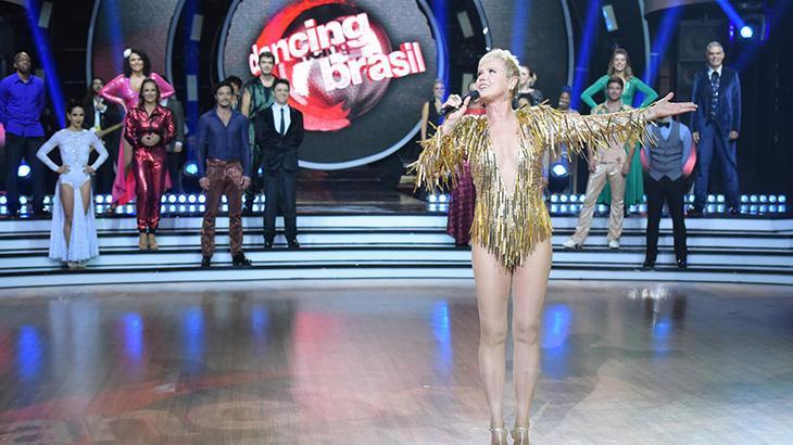 Xuxa Meneghel no Dancing Brasil 4