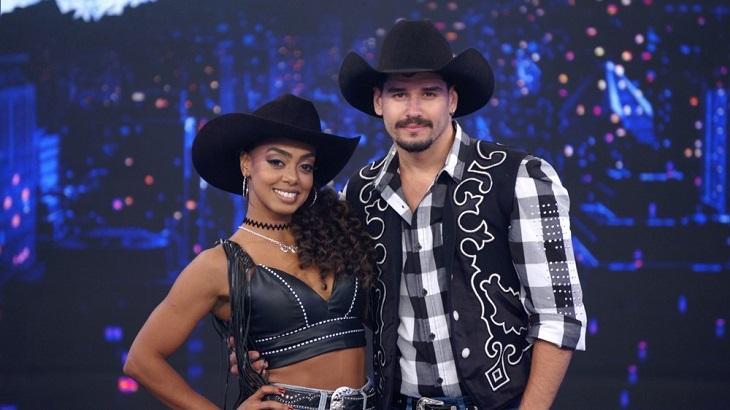 Dandara lidera a Dança dos Famosos - Foto: Reprodução/Globo