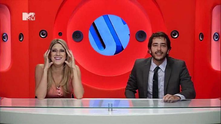 Dani Calabresa e Bento Ribeiro no Furo MTV - Foto: Reprodução/MTV