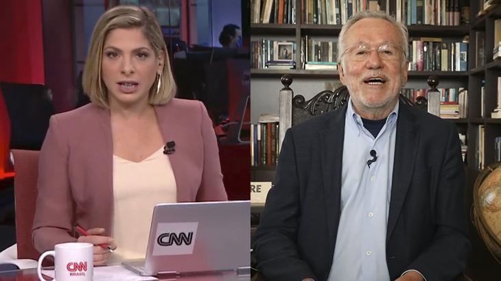 Daniela Lima e Alexandre Garcia (Foto: Montagem/Reprodução/CNN Brasil)