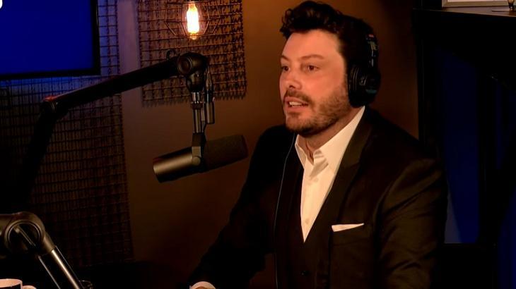 Danilo Gentili no podcast Ticaracaticast