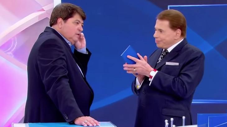 """Datena diz que recebeu oferta """"excepcional"""" de Silvio Santos para deixar a Band"""