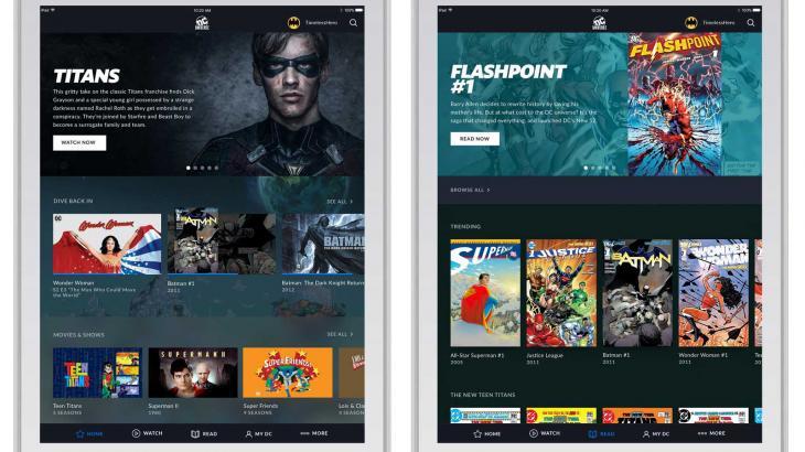 Mais uma: DC anuncia serviço por streaming para concorrer com Netflix e Disney