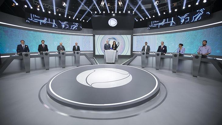Record segue SBT e também cancela debate eleitoral do primeiro turno