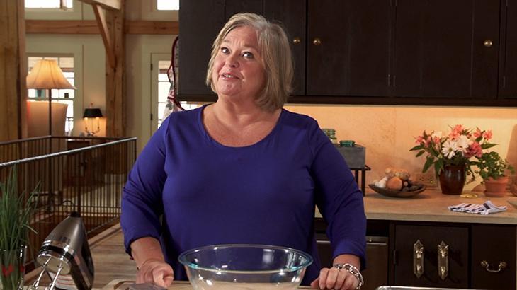 Nancy Fuller comanda o programa Delícias da Fazenda
