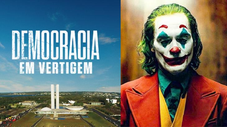 Coringa e Democracia em Vertigem estão no Oscar - Foto: Montagem