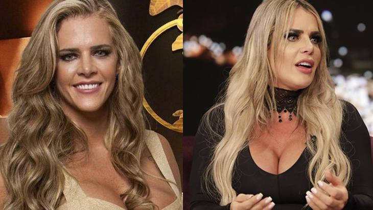 O antes e depois de Denise Rocha