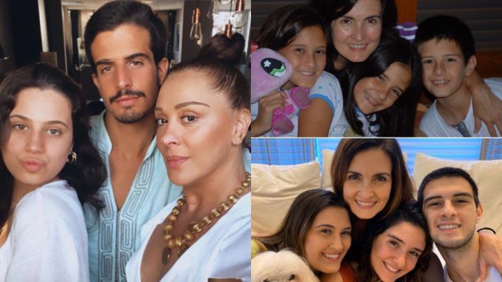 Claudia Raia e Fátima Bernades estão entre as famosas homenageadas neste Dia das Mães