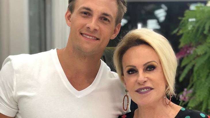 Diego e Ana Maria Braga