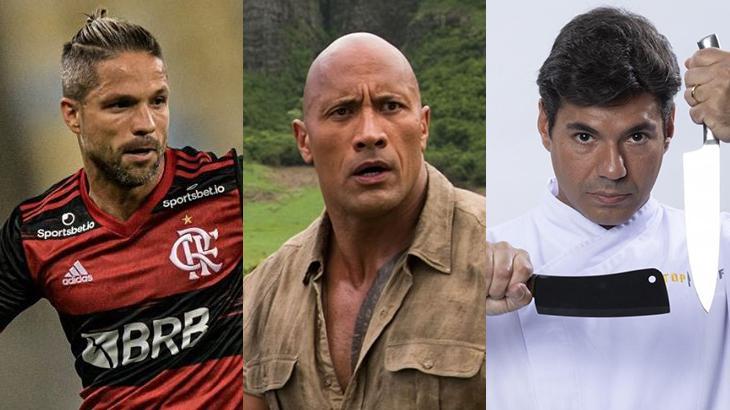 Futebol no SBT, filme na Globo e reality na Record: a super quarta na TV (Foto: Montagem/Reprodução)