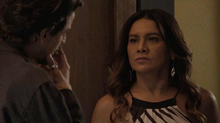 Jerônimo leva um tapa na cara da mãe - Divulgação/TV Globo