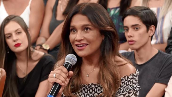 Sucesso em trama da década, Dira Paes revela que sonhava em ser mãe em 1990