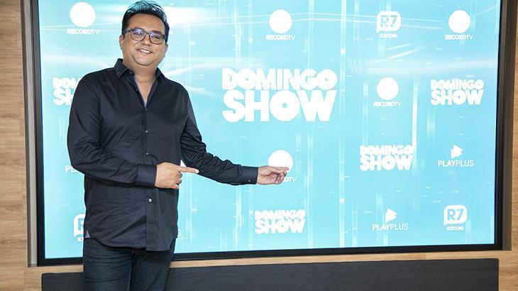 Geraldo Luís retoma longa duração do seu programa e lança novidades - Fotos: Edu Moraes/Record