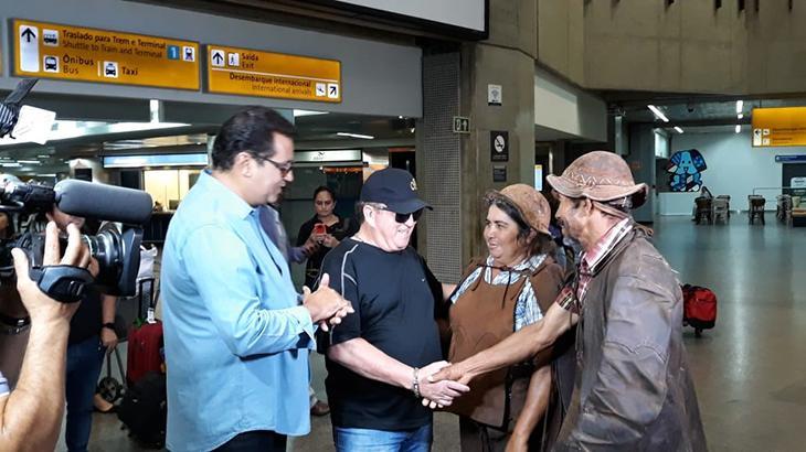 Domingo Show e Geraldo Luís