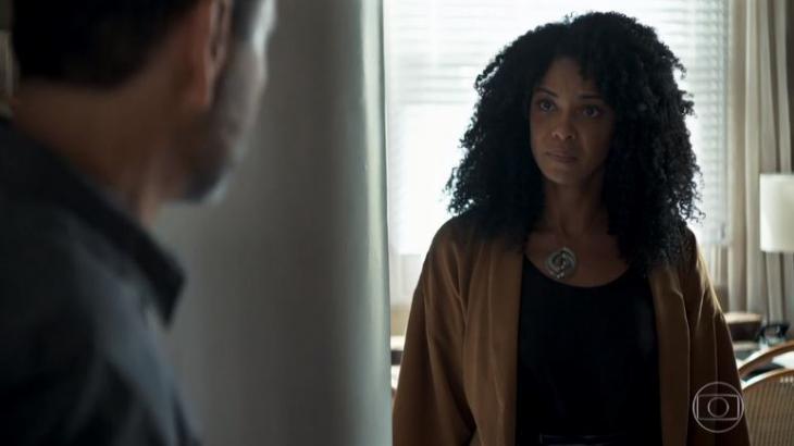 Para internautas, Gilda (Heloísa Jorge) foi gordofóbica em cena da novela - Reprodução/Globo
