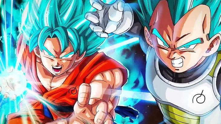 Vegeta e Goku no anime - Divulgação