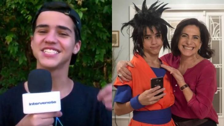 Drico Alves viveu um cosplay em A Força do Querer