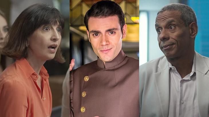 Mabel Cezar, Duio Botta e Jorge Lucas aparecem na TV como atores e dubladores