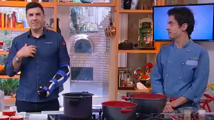 Edu Guedes falou da sua recuperação - Foto: Reprodução/RedeTV!