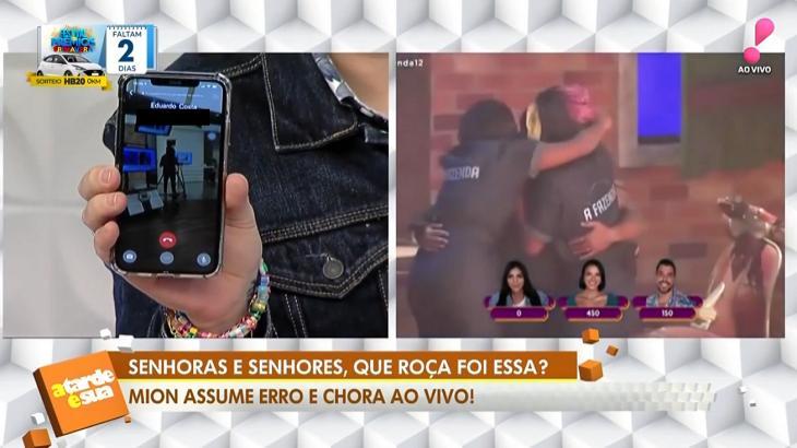 """Eduardo Costa admite """"ranço"""" de Victoria e tem número vazado na RedeTV!"""