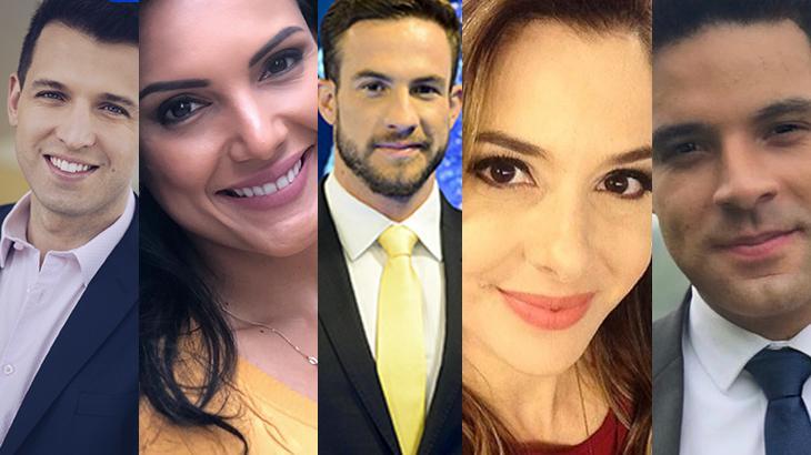 Cinco jornalistas são a nova cara do departamento do SBT