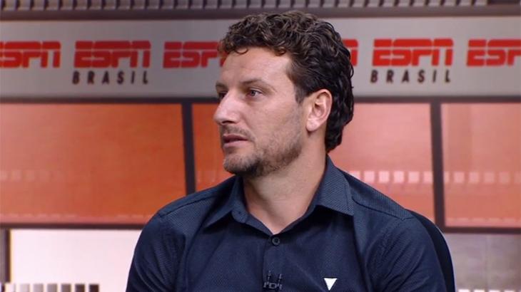 Ex-jogador da seleção, Santos e Grêmio, Elano é o novo comentarista da ESPN
