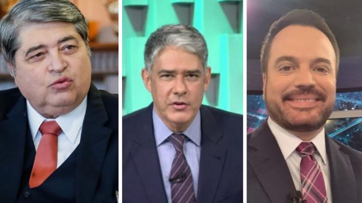 TVs preparam extensa cobertura - Reprodução/TV Bandeirantes/TV Globo/SBT