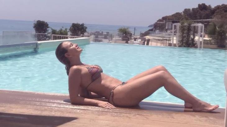 Eliana em Sardenha na Itália - Reprodução/Instagram